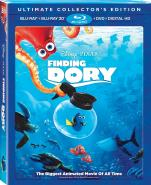 Finding Dory - Steelbook Target Exclusive with Lithograph Cards