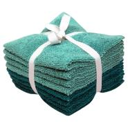 Solid Textured Washcloth Set